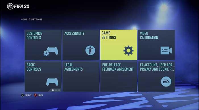 FIFA 22 Game Settings Guide