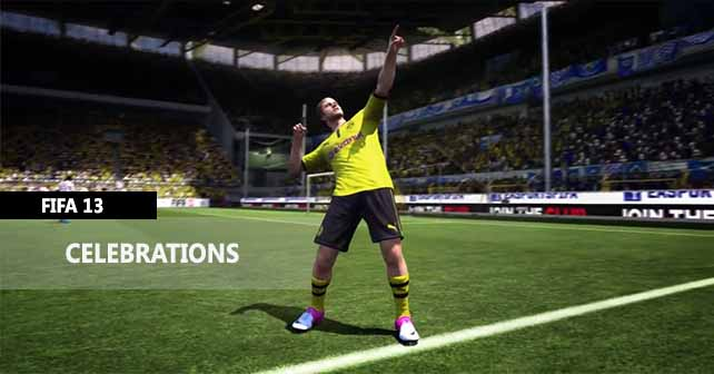 How to Perform all the FIFA 13 Celebrations (with video tutorial)