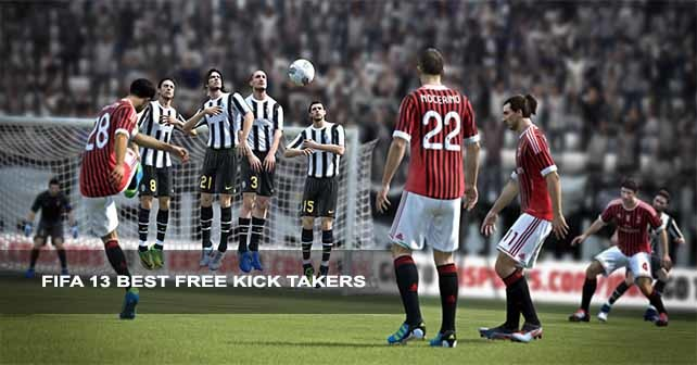 FIFA 13 Free Kick Takers