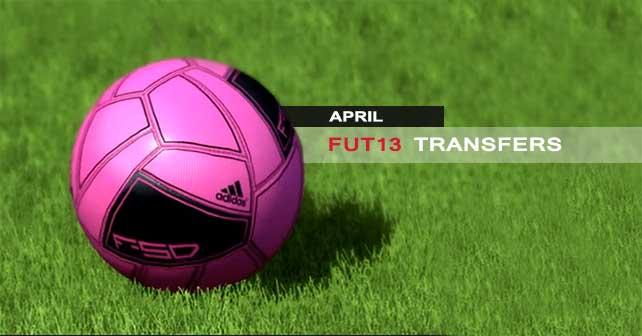 Fifa 13 Ultimate Team Transfers New Batch Of Aprils Transfers