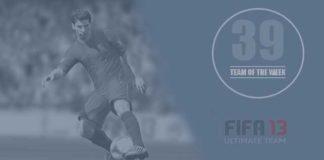 FIFA 13 Ultimate Team - TOTW 39