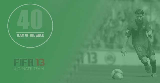 FIFA 13 Ultimate Team - TOTW 40