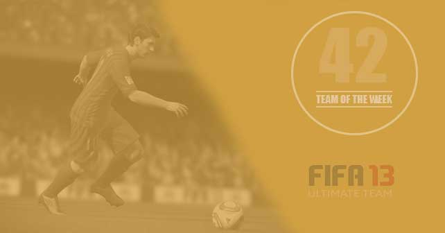 FIFA 13 Ultimate Team - TOTW 42