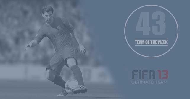 FIFA 13 Ultimate Team - TOTW 43