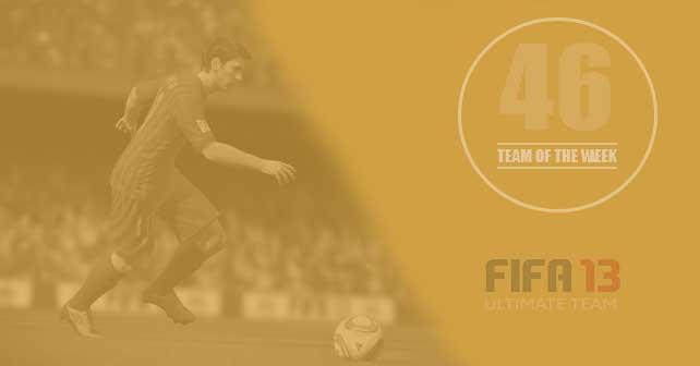 FIFA 13 Ultimate Team - TOTW 46