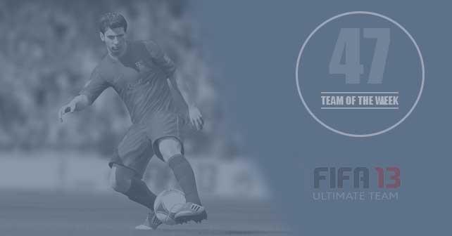 FIFA 13 Ultimate Team - TOTW 47