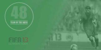 FIFA 13 Ultimate Team - TOTW 48