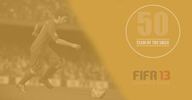 FIFA 13 Ultimate Team - TOTW 50