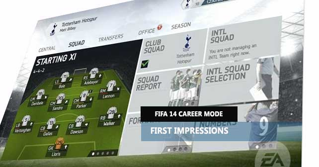 FIFA 14 Career Mode