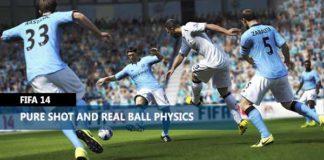 FIFA 14 Pure Shot and Real Ball Physics