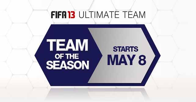FIFA 13 Ultimate Team TOTS