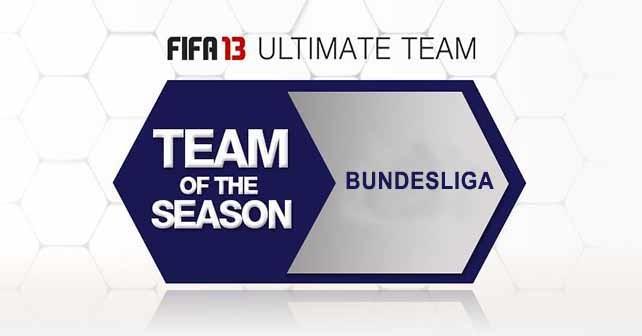 FUT 13 TOTS - Bundesliga
