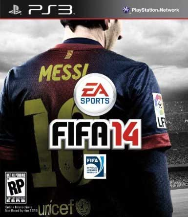 Is this the Official FIFA 14 cover ?