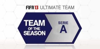 FUT 13 TOTS - The Best Serie A Players of the Season