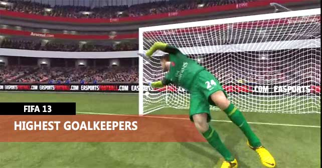 Highest Goalkeepers of FIFA 13