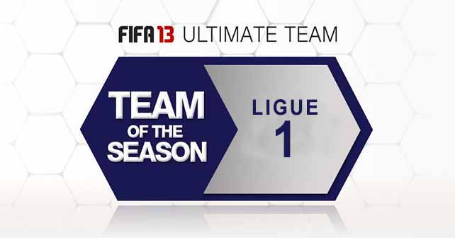 FUT 13 TOTS - The Best Ligue 1 Players of the Season