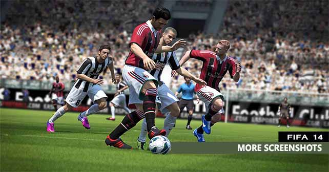 New FIFA 14 Screenshots