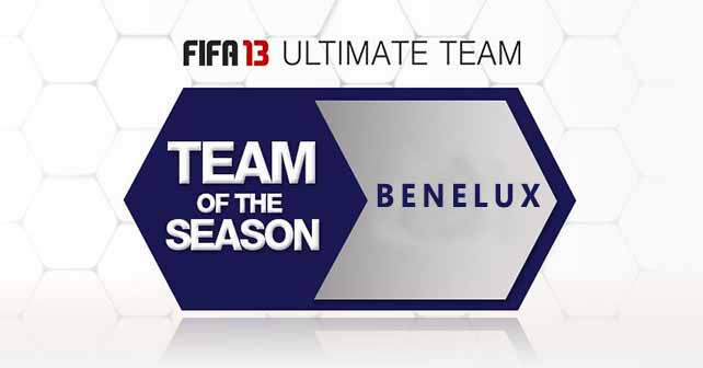 FUT 13 TOTS - The Best Eredivisie & Belgian PL Players of the Season