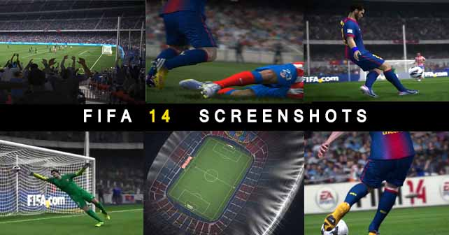New Next-Gen FIFA 14 Screenshots