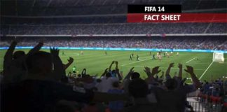 PS4 and XBox One FIFA 14 Fact Sheet
