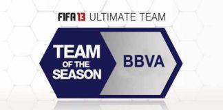 FUT 13 TOTS - The Best BBVA Players of the Season