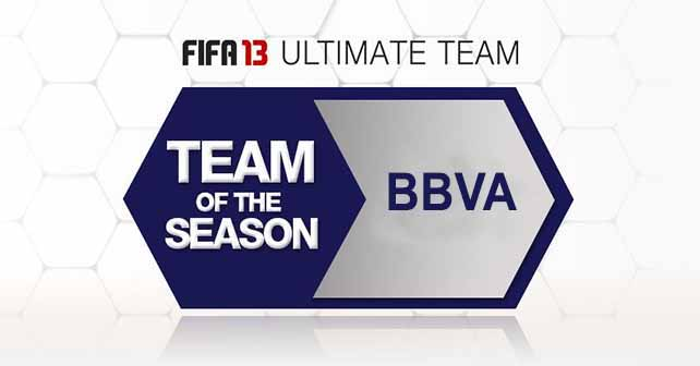 FUT 13 TOTS - The Best BBVA Players of the Season