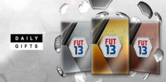 Daily Gifts for your FUT 13 Until June 22nd