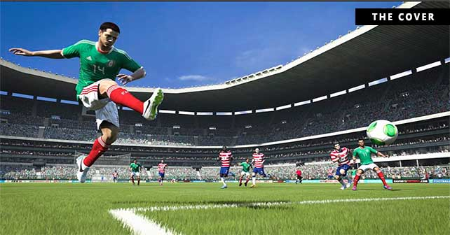 """FIFA 14 Cover for USA and Mexico with """"Chicharito"""" Hernandez"""