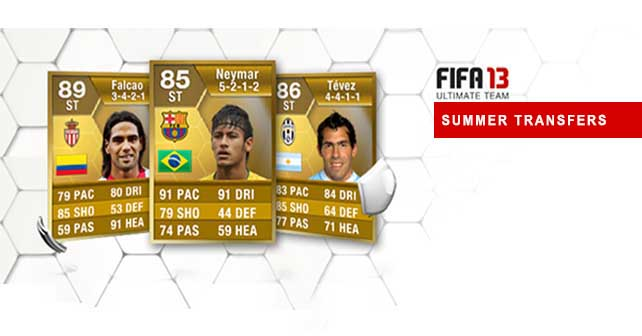 Fifa 13 Ultimate Team Summer Transfers Find The Player You Need
