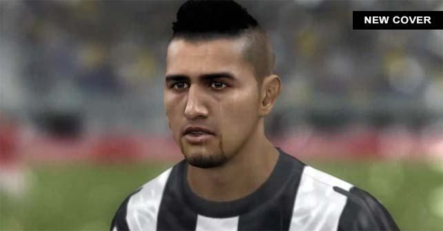 FIFA 14 Cover for Chile with Juventus Player Arturo Vidal