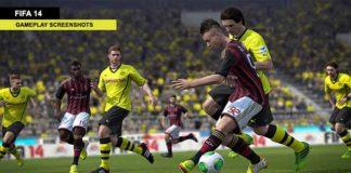 Fresh FIFA 14 Gameplay Screenshots