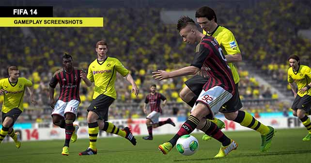 Fresh FIFA 14 Gameplay Screenshots