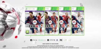 FIFA 14 Covers for Austria, Switzerland, Hungary and Czech Republic