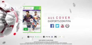FIFA 14 Cover for Australia Featuring Tim Cahill