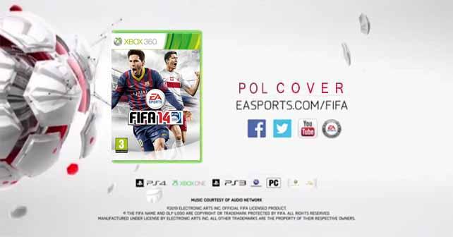 FIFA 14 Cover for Poland Featuring Robert Lewandowski