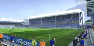 Everton Partnership with EA Sports takes Goodison Park into FIFA 14