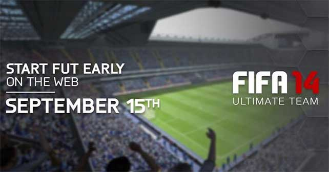 FUT 14 Web App Begins Tomorrow, September 15th