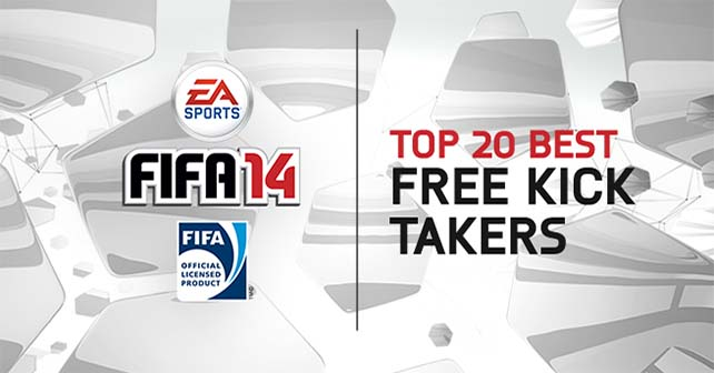 The 20 Best Free Kick Takers in FIFA 14