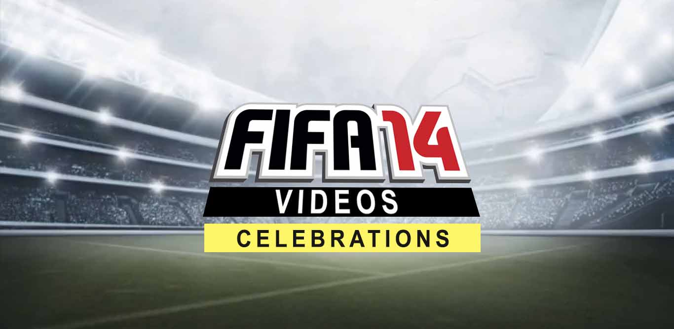 FIFA 14 Celebrations Video