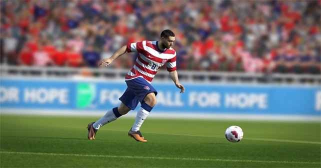 Clint Dempsey is the new EA ambassador and performs a FIFA 14 TV Ad