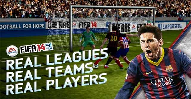 Download FIFA 14 for your iOS or Android Device for Free