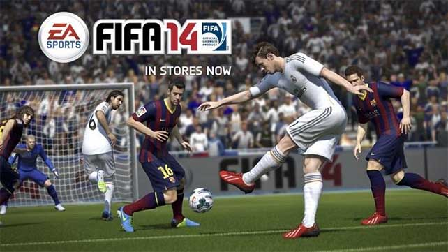 FIFA 14 is Number One in UK charts this Christmas
