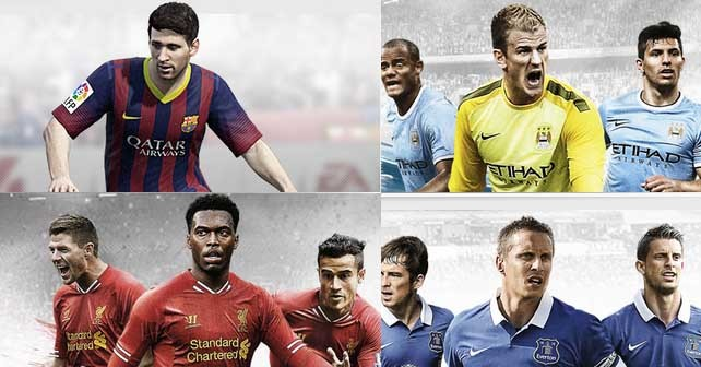 Custom FIFA 14 cover