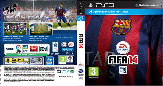 Download the Custom FIFA 14 Cover With Your Favourite Club