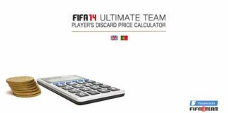 FIFA 14 Ultimate Team Player's Discard Price Calculator