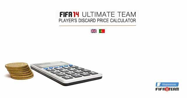 FIFA 14 Ultimate Team Player's Discard Price Calculator