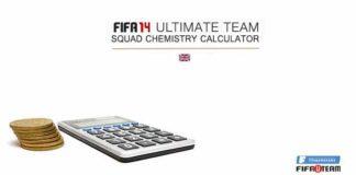 FIFA 14 Ultimate Team Squad Chemistry Calculator