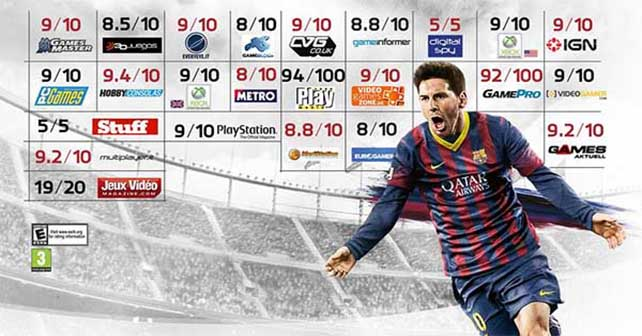 Share with us your opinion about FIFA 14
