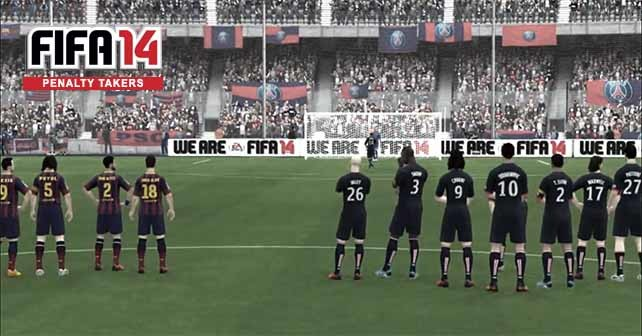 Best FIFA 14 Penalty Takers - Complete List