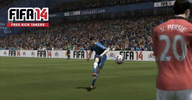 Best FIFA 14 Free Kick Takers